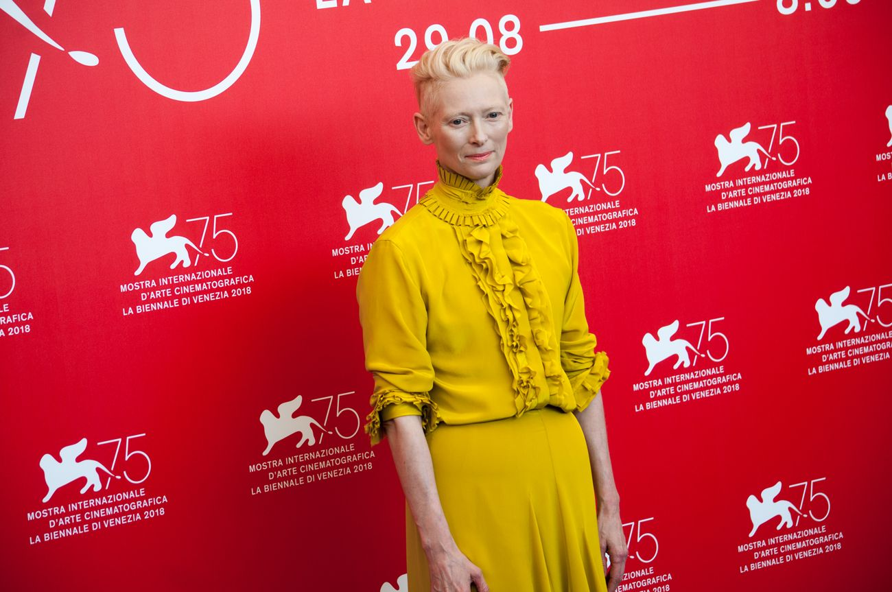 75. Mostra del Cinema di Venezia. Tilda Swinton. Photo Irene Fanizza