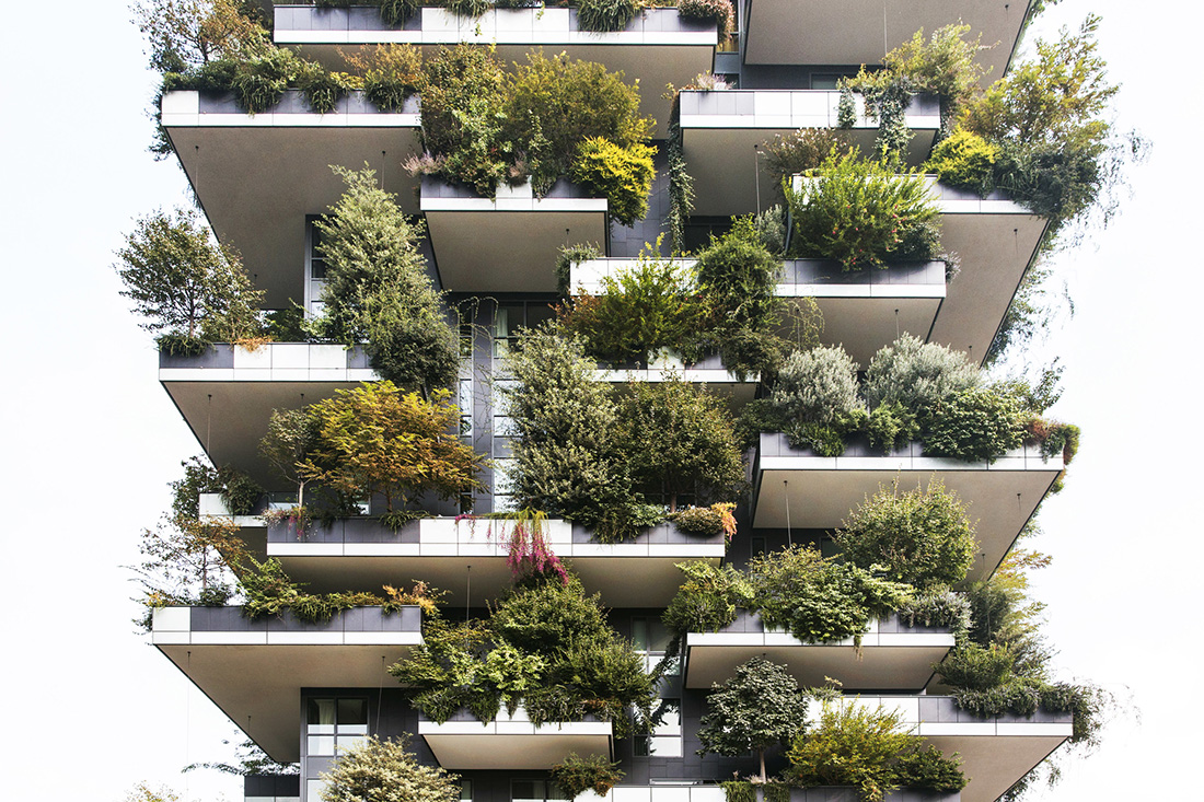 Vertical Forest, Boeri Studio, Photograph by Giovanni Nardi