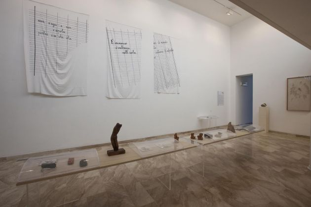 Genius Loci - Maestri di Sardegna. Ruben Montini. Exhibition view at Fondazione MACC, Calasetta 2018. Photo courtesy Giorgio Dettori