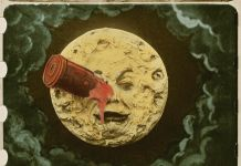 Georges Méliès, Le Voyage dans la Lune (movie), 1902 ©Lobster Fondation Groupmama Gan Fondation Technicolor