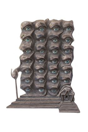 Salvador Dalí, Les yeux surréalistes, 1980. Galila's Collection, Belgio