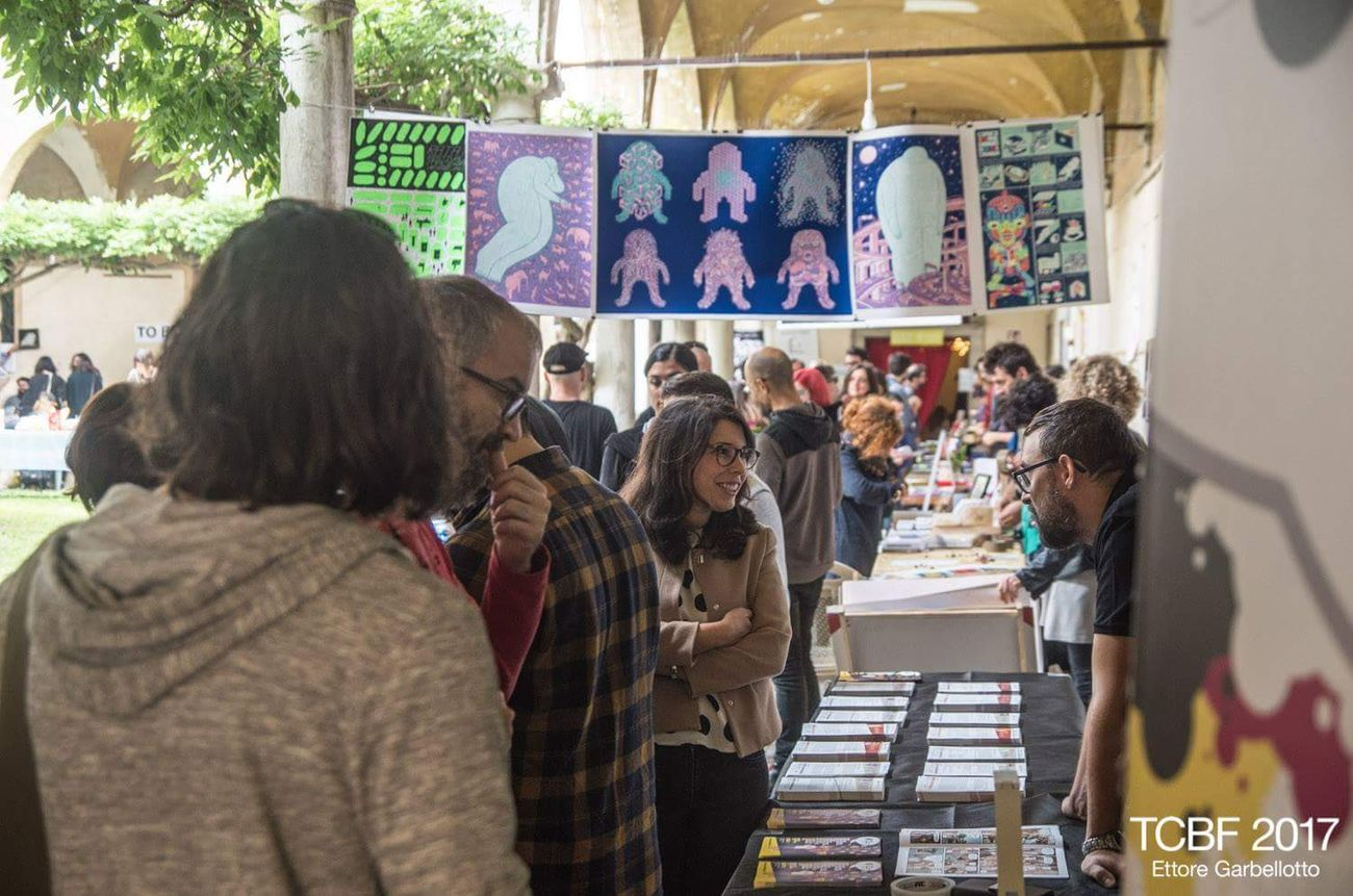 Treviso Comic Book Festival 2017. Photo Ettore Garbellotto