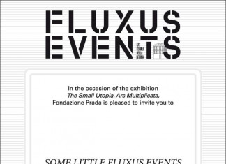 Some little Fluxus events