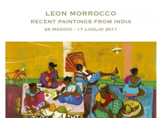 Leon Morrocco – Recent Paintings from India