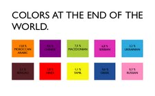 Elena Mazzi – Colors at the end of the world