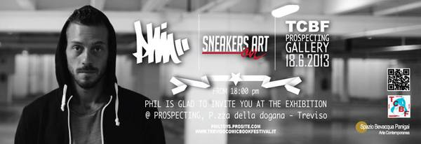 Phil Toys – Sneakers on art