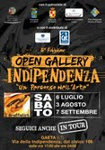 Open Gallery Indipendenza 2013