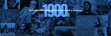 100×100=900 (100 videoartists to tell a century)