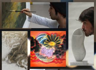 5 young artists at La Rondine Gallery