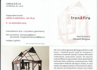 Giovanni Morgese – Iron&fire