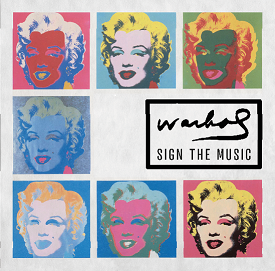 Warhol Sign the music