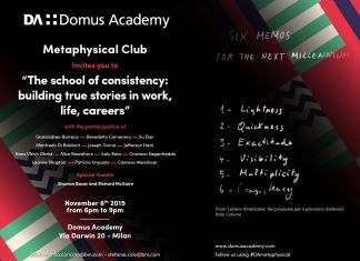Domus Academy Metaphysical Club