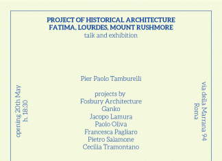 Pier Paolo Tamburelli – Project of a Historical Architecture