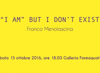 Franco Menolascina – I Am But I Don't Exist