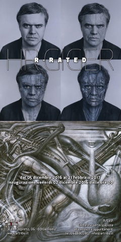 HR Giger – R-Rated