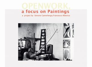 Openwork, a focus on paintings