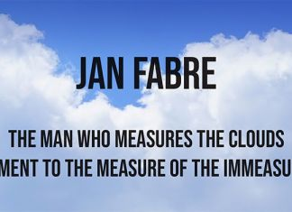 Jan Fabre – The Man Who Measures the Clouds