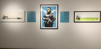 From the Street to the Museum Works of the artist known as Banksy