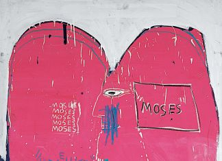Jean-Michel Basquiat – Moses and the Egyptians