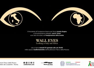 Wall Eyes. Looking at Italy and Africa