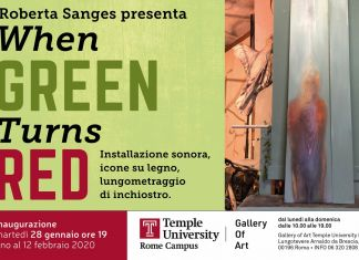 Roberta Sanges – When Green Turns Red