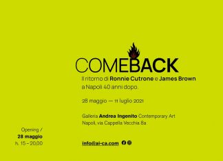 Ronnie Cutrone / James Brown – Come Back