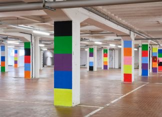 Peter Halley – Columns in 10 Colors