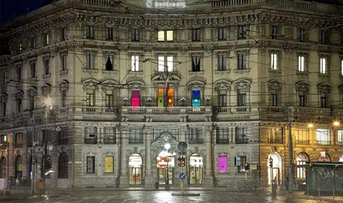 Francesco Candeloro Luoghi del Tempo, 2011. Progetto per la facciata di Palazzo Cordusio