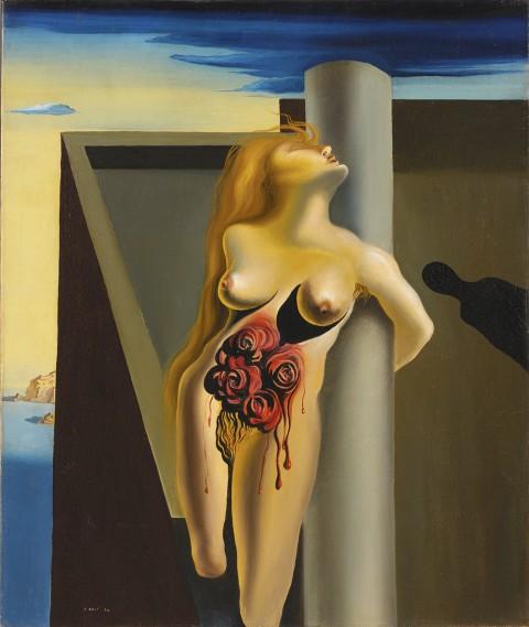 Salvador Dalí - Le rose sanguinanti - 1930 - Colleción Caixa Galicia, La Coruña
