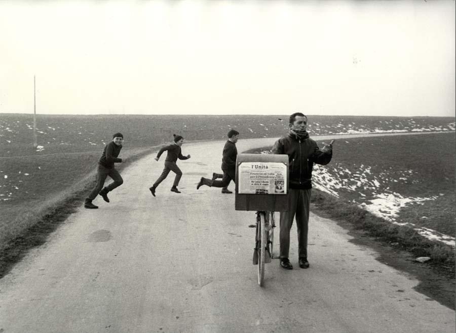 Mario Dondero, Campagne di Reggio Emilia, 1967