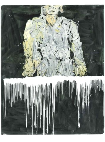 Un'opera di Georg Baselitz