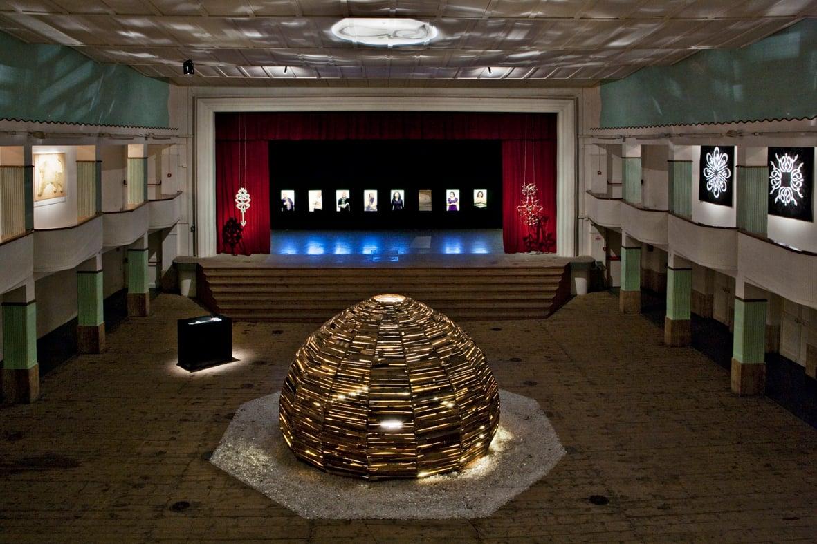 Moataz Nasr, The other side of the mirror2011, exhibition view Galleria Continua, San Gimignano - Courtesy Galleria Continua - Photo Ela Bialkowska