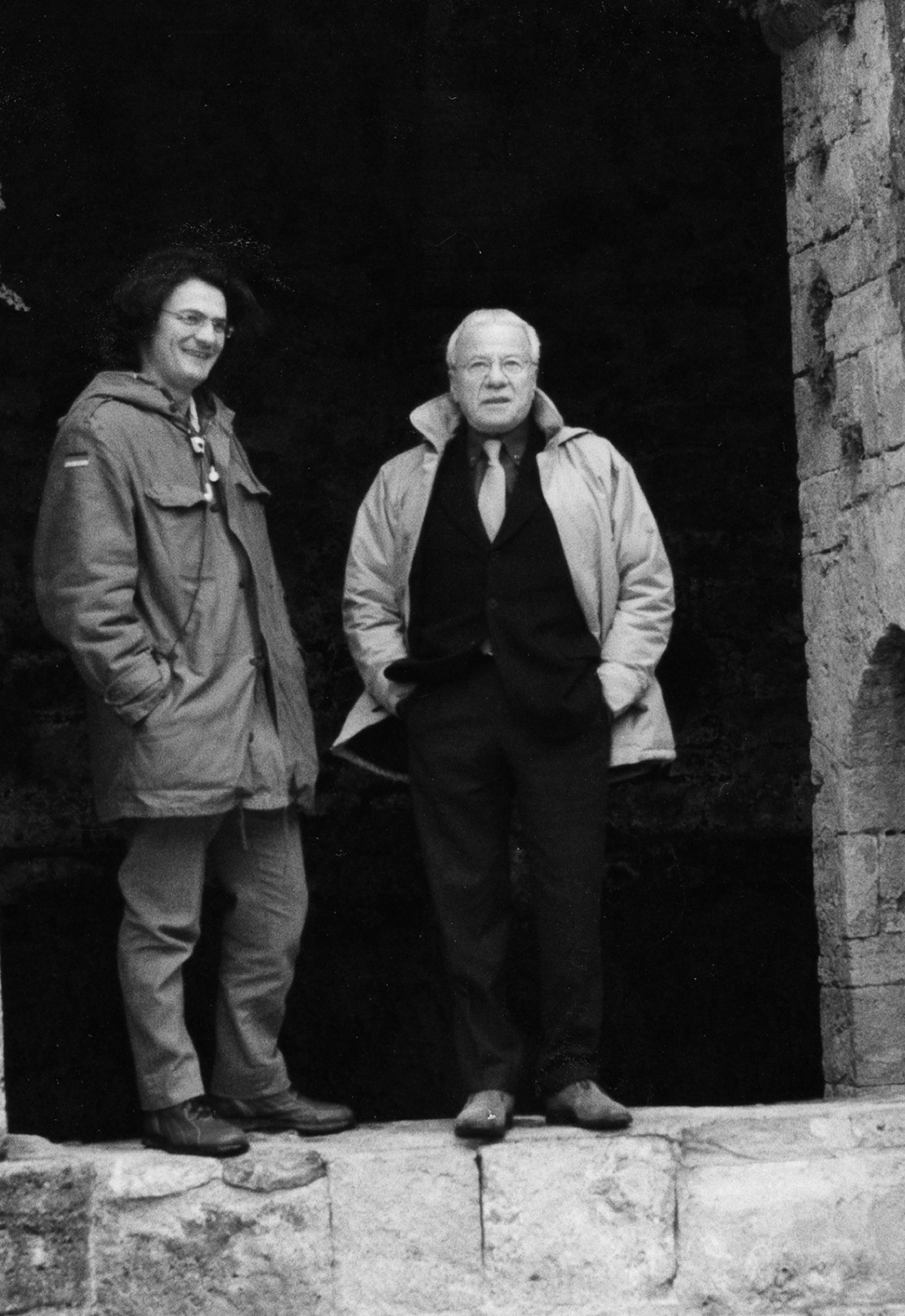 Mario Cristiani e Achille Bonito Oliva