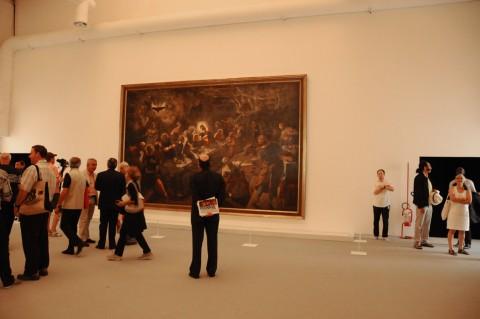 La sala dei Tintoretto - Biennale di Venezia 2011 - photo Valentina Grandini