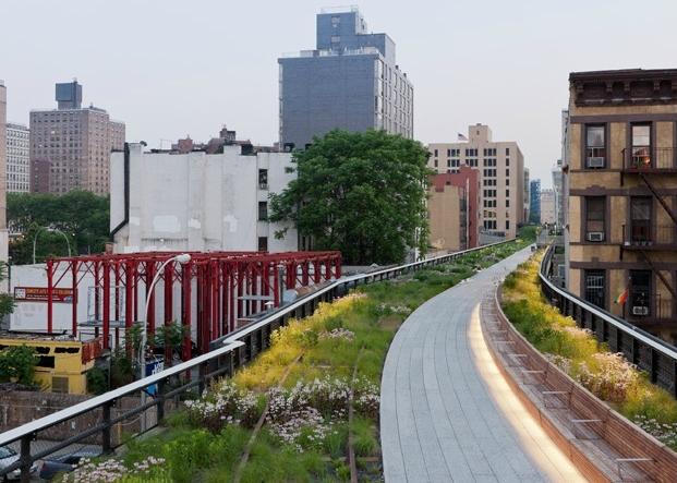 Una veduta della High Line II (foto Diller Scofidio + Renfro)