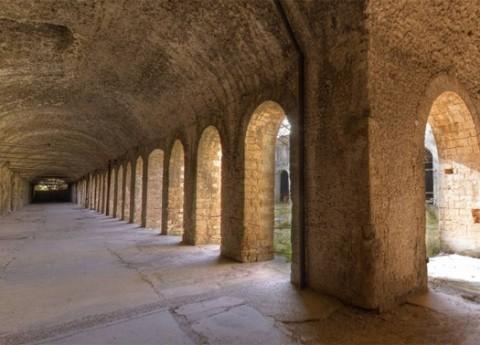 Uno scorcio del complesso di Ercole Vincitore a Tivoli