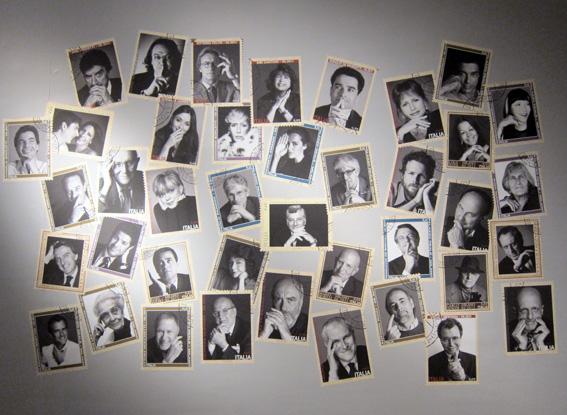KRGR. Bob Krieger - Ricordi tra fotografia e arte - veduta della mostra presso Palazzo Reale, Milano 2011