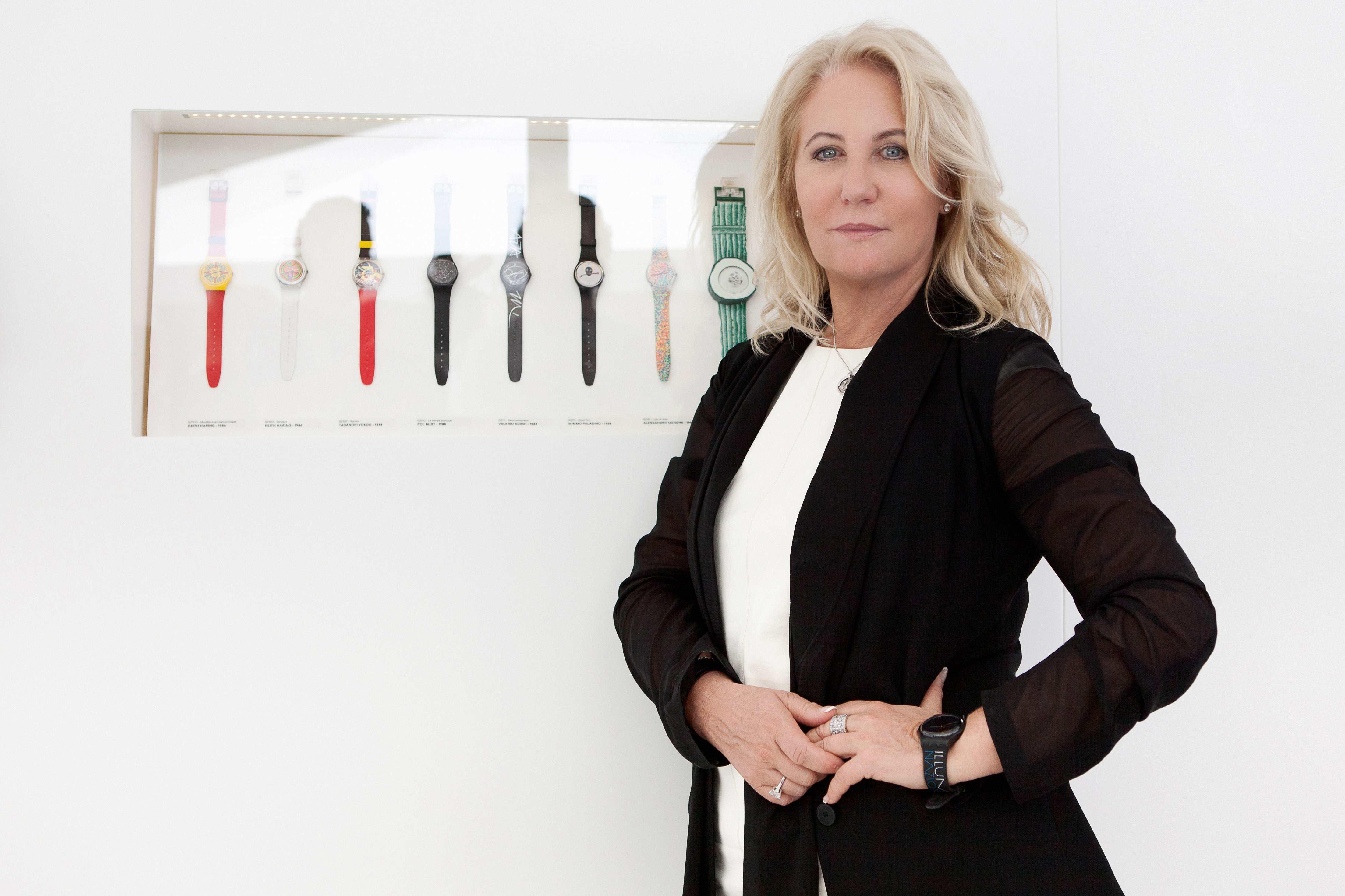 Arlette Elsa Emch, presidente di Swatch Group