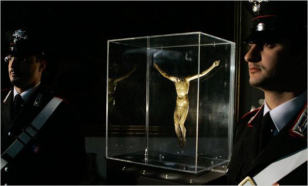 Il Crocefisso attribuito erroneamente a Michelangelo