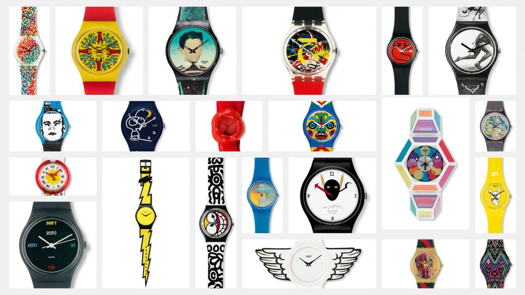 Swatch art collection