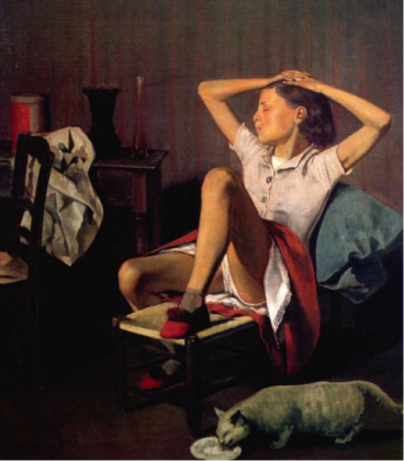 Balthus, Thérèse rêvant, 1938. The MET, New York. Photo Artists Rights Society (ARS), New York © Balthus