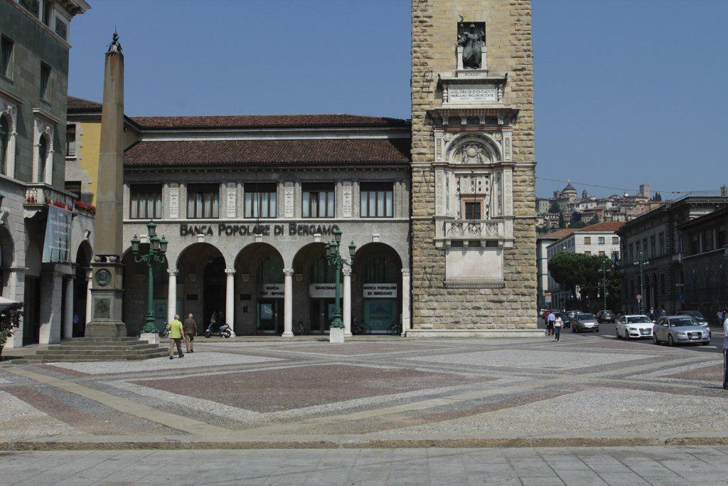 Bergamo, Palazzo Direzione Generale, Banca Popolare di Bergamo