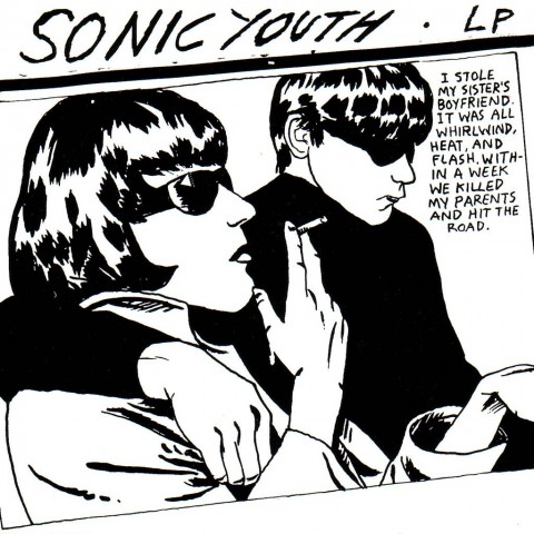 Sonic Youth - Goo - 1990 - copertina di Raymond Pettibon