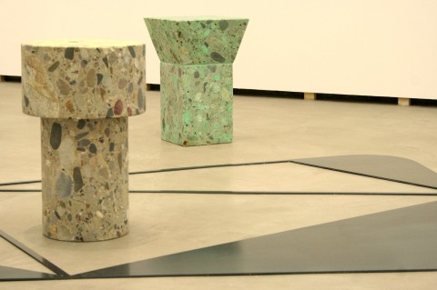 Andrea Sala - L'ultima sigaretta - veduta della mostra presso la Federica Schiavo Gallery, Roma 2011