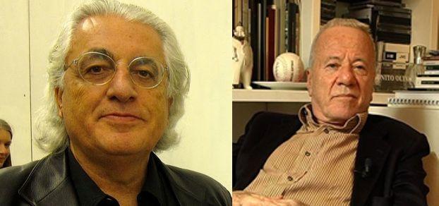 Germano Celant e Achille Bonito Oliva