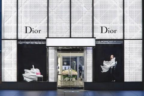 Vetrine Dior by Daniel Arsham