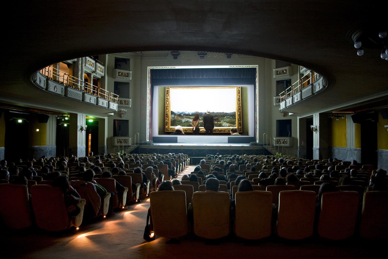 SDA 2011 la sala del cinema Odeon durante la proiezione di Urs ...