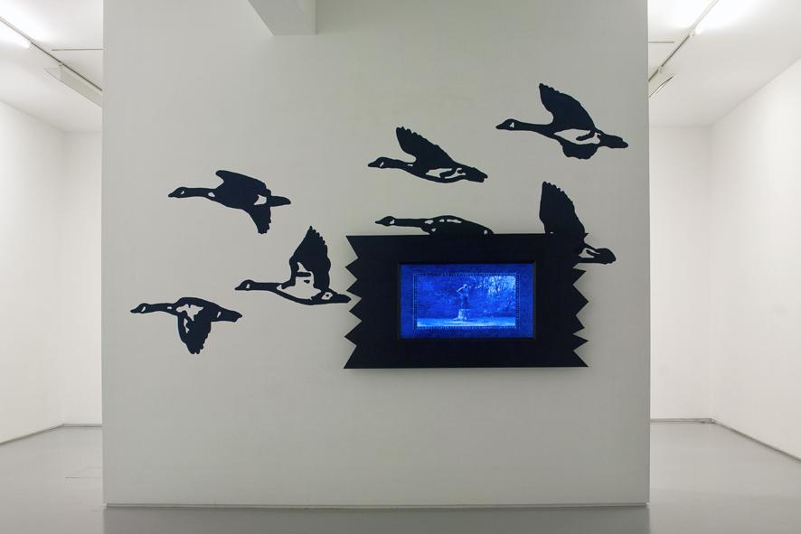 David Robbins - The Country Line (installation version) - 2011 - courtesy Galleria Raucci/Santamaria, Napoli - photo E. Velo