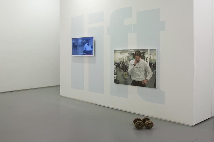 David Robbins - Lift (installation version) - 2011 - courtesy Galleria Raucci/Santamaria, Napoli - photo E. Velo