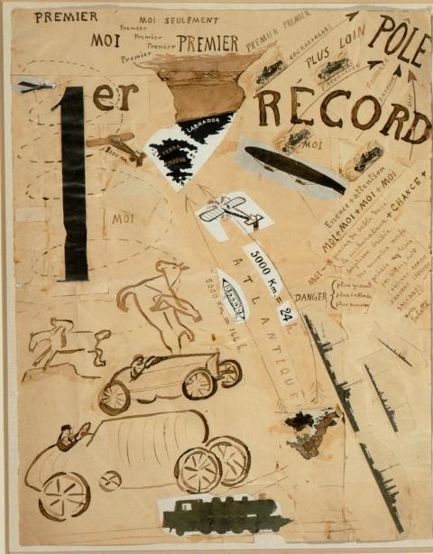 Filippo Tommaso Marinetti - Guido Guidi - 1916 - inchiostro su carta - coll. privata